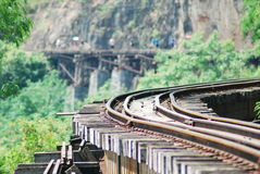 Classic train is the transportation on railway in thailand Royalty Free Stock Photo