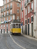 Classic tram. Royalty Free Stock Images
