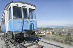 Classic tram carriage Stock Images