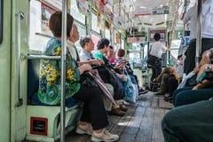 Classic tram of Kumamoto city Royalty Free Stock Photography