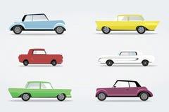 Classic transportation auto vehicle retro car. Royalty Free Stock Photo