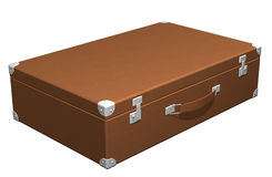 Classic travel suitcase Royalty Free Stock Photography