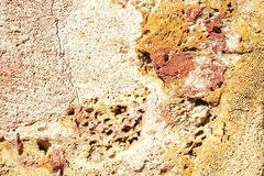 Classic travertine texture. Stock Photos