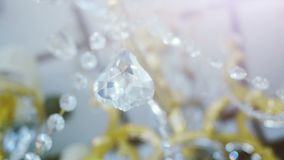 Classic triangle shape crystals. Royalty Free Stock Photo