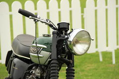 Classic triumph motorcycle Royalty Free Stock Photography