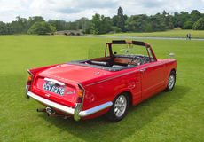 Classic Triumph Vitesse 2L convertable Royalty Free Stock Image