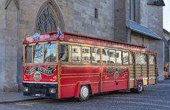 Classic Trolley in Zurich Royalty Free Stock Image