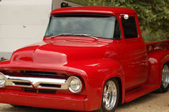 Classic Truck 2. Custom Red Classic Pickup Truck Stock Images