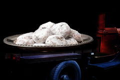 Load of cookies on truck Royalty Free Stock Image