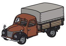 Classic truck Stock Photography