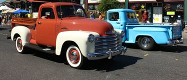 Classic trucks Royalty Free Stock Images