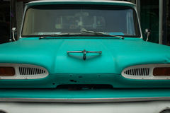 Classic Turquoise Automobile Stock Images