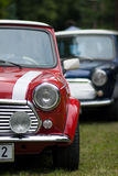 Classic Two Cars Mini Stock Photos