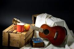 Classic ukulele Royalty Free Stock Photo