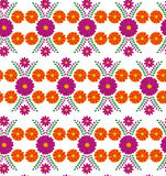 Classic vector wallpaper seamless vintage flower pattern background Royalty Free Stock Photography