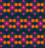Classic vector wallpaper seamless vintage flower pattern background Stock Photos