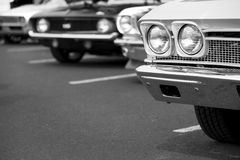 Classic vehicles Royalty Free Stock Images