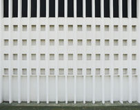 Classic ventilation void. On concrete wall Stock Photography