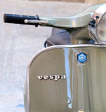 Classic Vespa Stock Photo