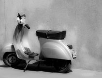 Classic Vespa Stock Photography
