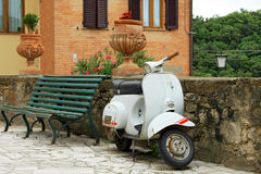 Classic Vespa Special 50 Royalty Free Stock Photo