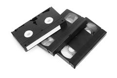 Classic vhs tape isolated Royalty Free Stock Image