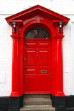 Classic victorian door in UK Stock Image