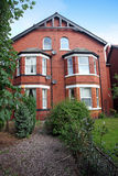 Classic Victorian home in England, Chester small town Stock Image