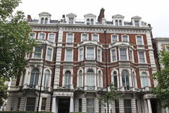 Classic victorian house in London, Baker Street, UK Royalty Free Stock Photos