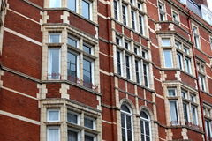 Classic victorian house in London, Baker Street Stock Photo