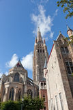 Classic view of Bruges Stock Images