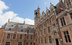 Classic view of Bruges Royalty Free Stock Images