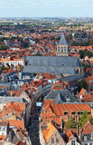 Classic view of Bruges. Stock Images