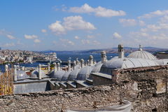 Classic view from Istanbul Royalty Free Stock Photo