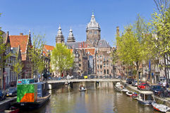 Free Classic View Of Amsterdam Royalty Free Stock Photos - 21846578