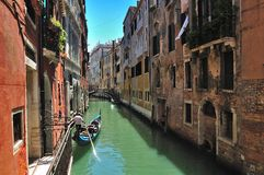 Classic view of Venice Stock Images