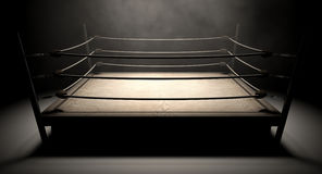 Classic Vintage Boxing Ring Stock Photography