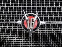 Classic Vintage Cadillac V16 Logo Emblem royalty free stock photography
