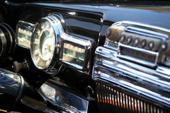 Classic Vintage Car Detail Royalty Free Stock Photography