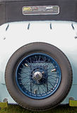 Classic and Vintage Car Detail Royalty Free Stock Photos