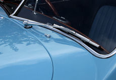 Classic and Vintage Car Detail. Showing parts and bodywork. Abstract and background use royalty free stock photo
