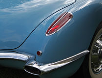Classic and Vintage Car Detail Royalty Free Stock Images