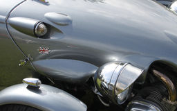 Classic and Vintage Car Detail Stock Photography