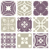 Classic vintage elegant pastel violet seamless abstract pattern 21 Royalty Free Stock Image