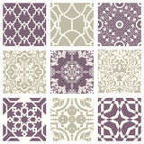 Classic vintage elegant pastel violet seamless abstract pattern 27 Royalty Free Stock Photos