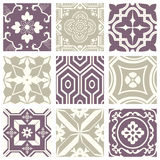 Classic vintage elegant pastel violet seamless abstract pattern 33 Royalty Free Stock Photo