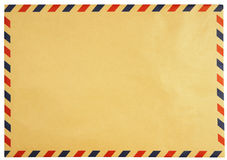 Classic vintage envelope isolated Royalty Free Stock Image