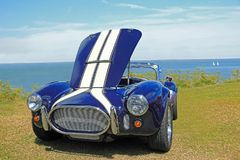 Classic Vintage Ford Ac Cobra Shelby Sports Royalty Free Stock Photos