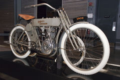Classic Vintage Harley Dasvidson Motorcyle Bike Royalty Free Stock Images