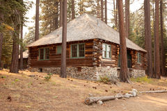 Classic Vintage Log Cabin Stock Photos